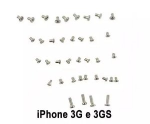 Kit de Parafusos para iPhone 3G/3GS (30 pçs)