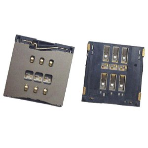 SLOT GAVETA CHIP SIM iPHONE 5G/5S/5C (PARA SOLDAR NA PLACA)