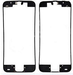 FRAME LCD/TOUCH iPHONE 5C PRETO (BENZEL) / ARO iPHONE 5C PRETO  ( COM COLA DE FUSÃO )