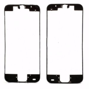 FRAME LCD/TOUCH iPHONE 5C PRETO (BENZEL) / ARO iPHONE 5C PRETO  ( COM DUPLA FACE )