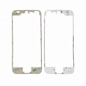 FRAME LCD/TOUCH iPHONE 5G BRANCO (BENZEL) / ARO iPHONE 5 BRANCO  ( COM COLA DE FUSÃO )