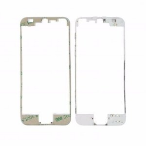 FRAME LCD/TOUCH iPHONE 5G BRANCO (BENZEL) / ARO iPHONE 5 BRANCO  ( COM DUPLA FACE )