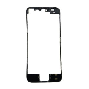 FRAME LCD/TOUCH iPHONE 5S PRETO (BENZEL) / ARO iPHONE 5S PRETO ( COM DUPLA FACE )