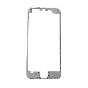 """FRAME LCD/TOUCH iPHONE 6G 4,7"""" BRANCO (BENZEL) / ARO iPHONE 6 BRANCO (COM COLA DE FUSÃO)"""