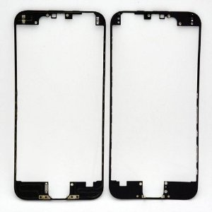 "FRAME LCD/TOUCH iPHONE 6G 4,7"" PRETO (BENZEL) / ARO iPHONE 6 PRETO ( COM DUPLA FACE )"