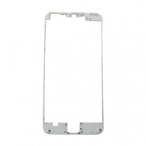 """FRAME LCD/TOUCH iPHONE 6S PLUS 5,5"""" BRANCO (BENZEL) / ARO iPHONE 6S PLUS BRANCO ( COM COLA DE FUSÃO )"""