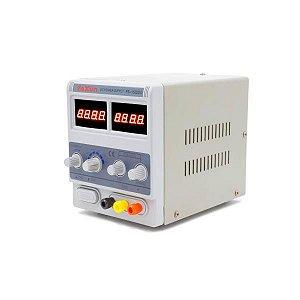 FONTE DE ALIMENTAÇÃO DIGITAL - YAXUN PS-1502DD (110V) / FONTE DIGITAL YAXUN YX1502 110V