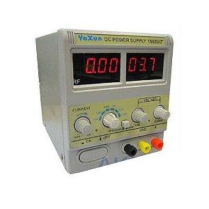 FONTE DE ALIMENTAÇÃO DIGITAL - YAXUN PS-1502DD+ (110V) / FONTE DIGITAL YAXUN YX1502 110V