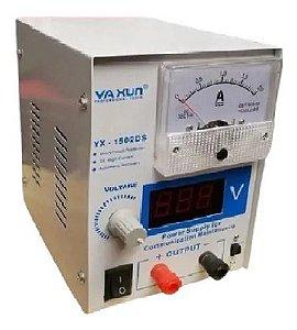 FONTE DE ALIMENTAÇÃO DS  YAXUN  YX-1502ds 15v 2a Dc 110V