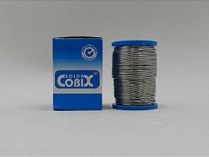 ESTANHO PARA SOLDA COBIX 1,0mm ( FIO CHEIO 60X40 ) CARRETEL 250g CX AZUL