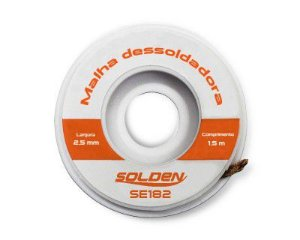 MALHA DESSOLDADORA SOLDEN SE182 - 1,5m x 2,5mm