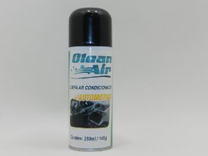SPRAY LIMPA AR CONDICIONADO AUTOMOTIVO CLEAN AIR 140gr/250ML / HIGIENIZADOR DE AR CONDICIONADO AUTOMOTIVO IMPLASTEC