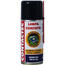 SPRAY LIMPA CONTATOS IMPLASTEC CONTACTEC - LATA 210ML ( 130G ) - AEROSOL PARA LIMPEZA EM CONTATOS