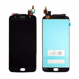 DISPLAY LCD MOTOROLA XT1802 MOTO G5S PLUS - PRETO