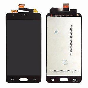 DISPLAY LCD SAMSUNG J5 PRIME /G570 GALAXY J5 PRIME COMPLETO - CINZA GRAFITE /PRETO