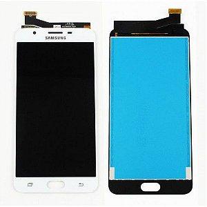 DISPLAY LCD SAMSUNG J7 PRIME /G610 GALAXY J7 PRIME COMPLETO - BRANCO
