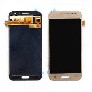 DISPLAY LCD SAMSUNG J7 PRIME /G610 GALAXY J7 PRIME COMPLETO - DOURADO