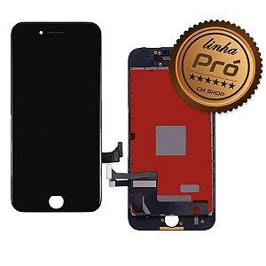 """DISPLAY LCD iPHONE 8G (4,7"""") PRETO - LINHA PRÓ"""