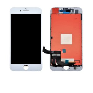 "DISPLAY LCD iPHONE 8G PLUS  5.5"" BRANCO - AAA - ORIGINAL"