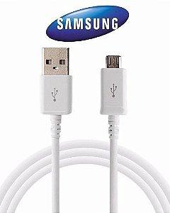 CABO DADOS SAMSUNG MICRO USB GALAXY S6 / S7 EDGE BRANCO ORIGINAL CAIXA