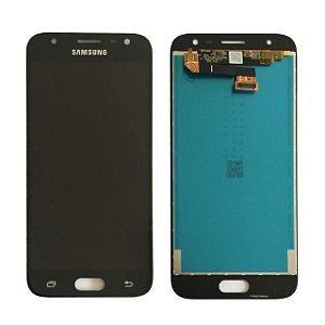 DISPLAY LCD SAMSUNG J3/J330 GALAXY J3 PRO COMPLETO - PRETO ORIGINAL