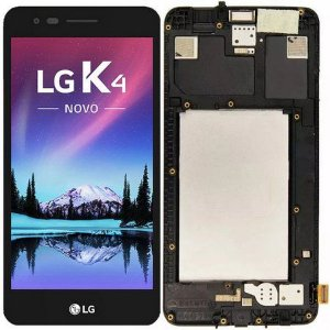DISPLAY LCD LG X230 K4 2017 PRETO - LCD LG K4 2017  COMPLETO PRETO