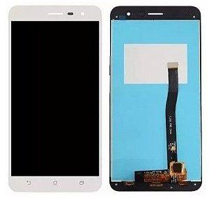 """DISPLAY LCD ASUS ZENFONE 3 - 5.5"""" ZE552KL  COMPLETO - BRANCO"""