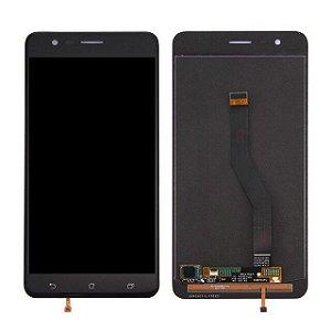 DISPLAY LCD ASUS ZENFONE 3 ZOOM - ZE553KL COMPLETO - PRETO