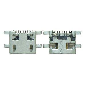 CONECTOR DE CARGA LG L80 D337 D375 D385 D690 PARA SOLDA NA PLACA