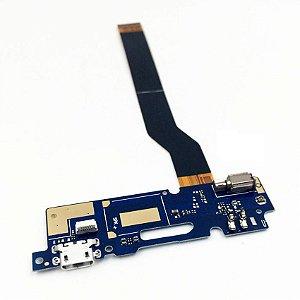 CONECTOR DE CARGA ASUS ZC520TL ZENFONE 3 MAX (5.2) COMPLETO - DOCK ZENFONE 3 MAX