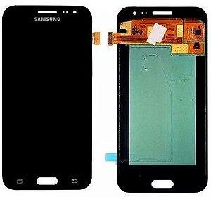 DISPLAY LCD SAMSUNG J2/J200 GALAXY J2 COMPLETO - CINZA