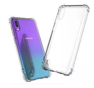 CAPA ANTI SHOCK PARA SAMSUNG GALAXY M10 - TRANSPARENTE