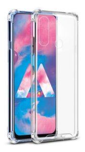 CAPA ANTI SHOCK PARA SAMSUNG GALAXY M30 - TRANSPARENTE