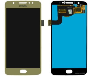 DISPLAY LCD MOTOROLA MOTO E4 XT1763 COMPLETO - DOURADO