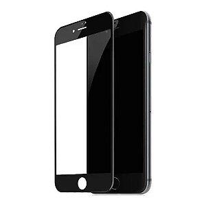 PELÍCULA DE VIDRO 3D PARA IPHONE 6G / 7G / 8G - BORDA PRETA