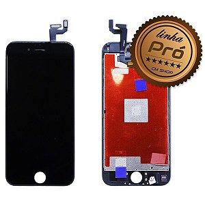 "DISPLAY LCD iPHONE 6S (4,7"") PRETO - LINHA PRÓ"
