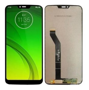 DISPLAY LCD MOTOROLA XT1955 MOTO G7 POWER COMPLETO - PRETO