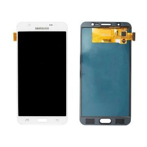 DISPLAY LCD SAMSUNG J710 GALAXY J7 METAL 2016 COMPLETO - BRANCO