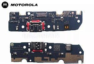 CONECTOR DE CARGA MOTOROLA MOTO G6 XT1922  DOCK COMPLETO