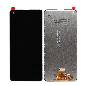 DISPLAY LCD SAMSUNG GALAXY A21S A217 INCELL SEM ARO