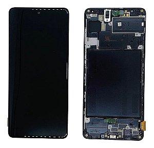 DISPLAY LCD SAMSUNG GALAXY A71 A715 ORIGINAL COM ARO