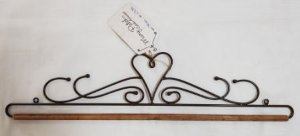 Coração tribal 40 cm