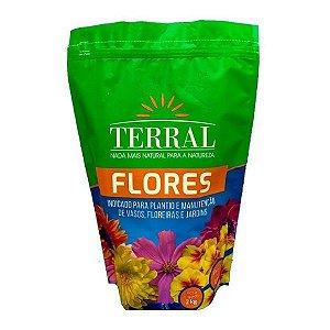 Adubo para flores Terral - 2kg