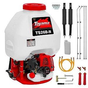 Pulverizador Costal à Gasolina 2T TS26B - Toyama