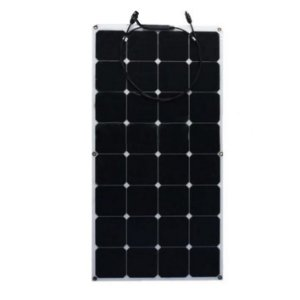 Painel Solar Flexível Monocristalino 100W 12v M-SI