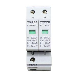DPS Dispositivo de Proteção contra Surtos Bipolar 40kA 600V DC TOMZN
