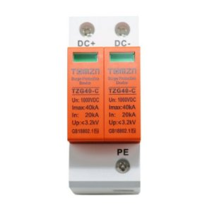 DPS Protetor Surto Bipolar 40kA 1.000VDC - TOMZN