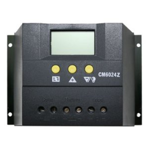 Controlador de Carga Solar 60A 12V/24V PWN SunYoba CM6024Z - Com Display LCD