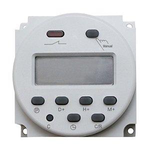 Timer Temporizador Digital Nano 12-220VAC 16A