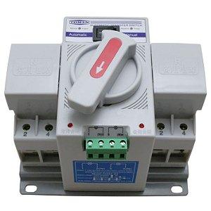 Chave de Transferência Automática Bipolar 63A 230V